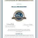 2020-BLI-MX-B476W-HIGHLY-RECOMMENDED-CERTIFICATE