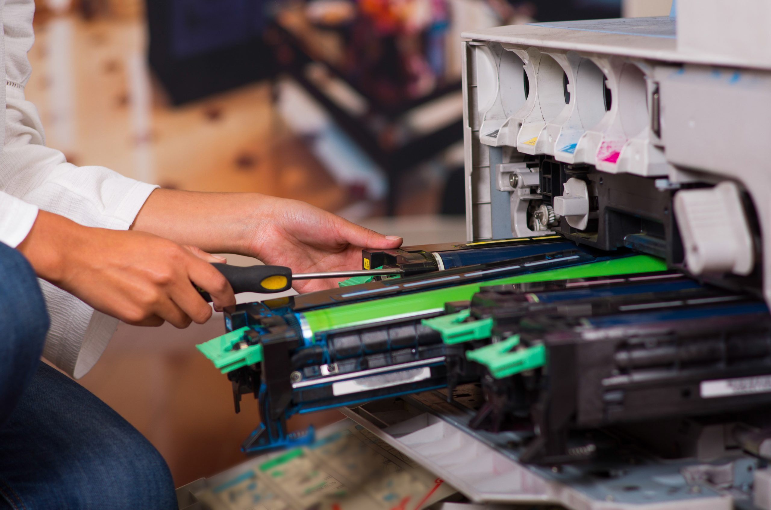 Our HP repair technicians will come to your office