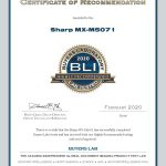 2020-BLI-MX-M5071-HIGHLY-RECOMMENDED-CERTIFICATE