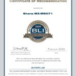 2020-BLI-MX-M6071-HIGHLY-RECOMMENDED-CERTIFICATE